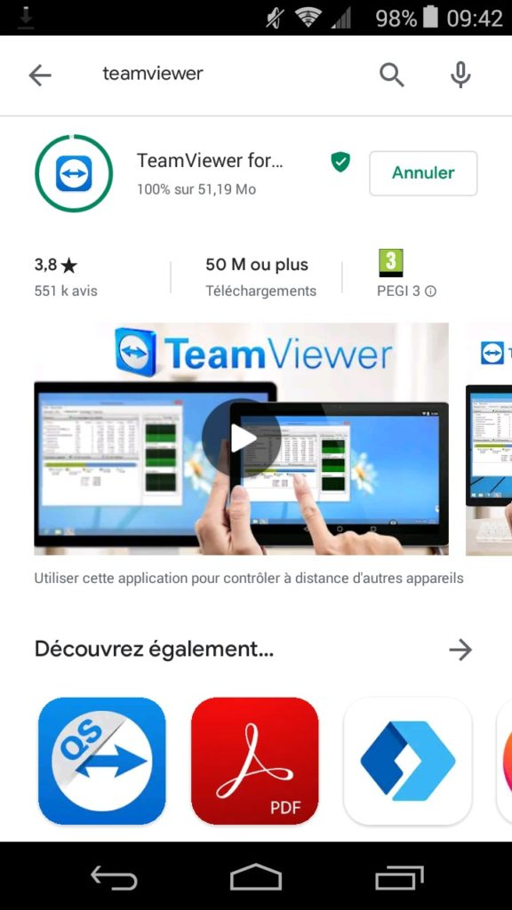 teamviewer smartphone android