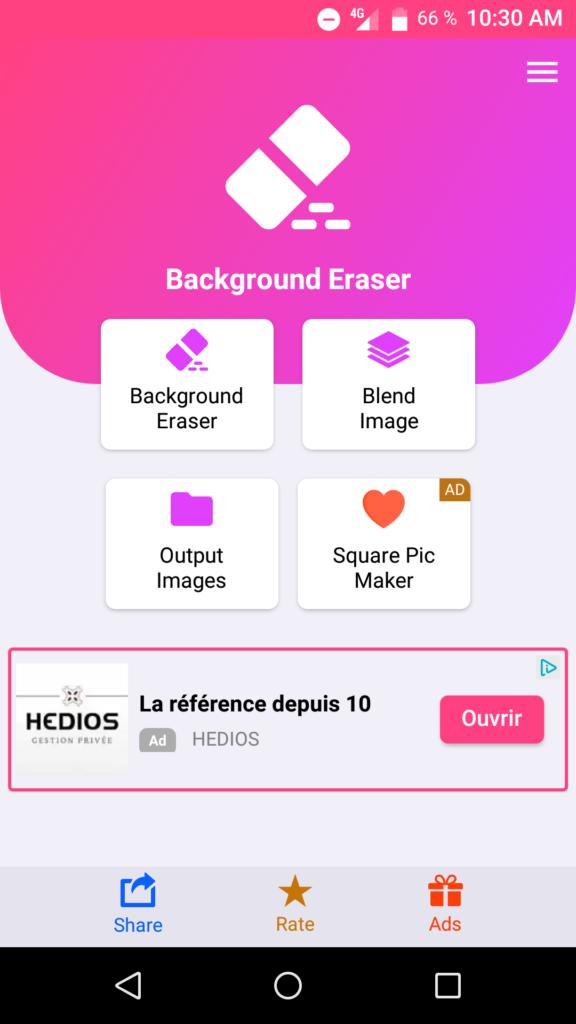 Utiliser l'application Change photo background pour changer l'arrière plan de votre photo