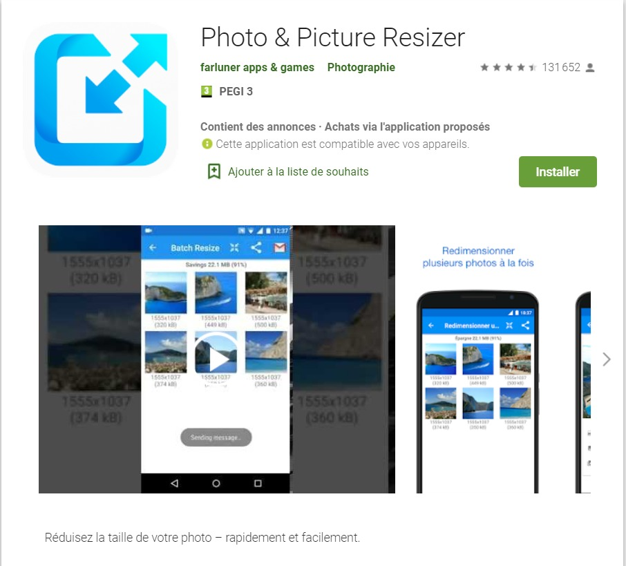 Comment rogner une photo sur un smartphone Android
