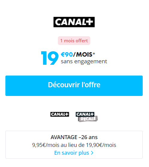 offres streaming canal plus android