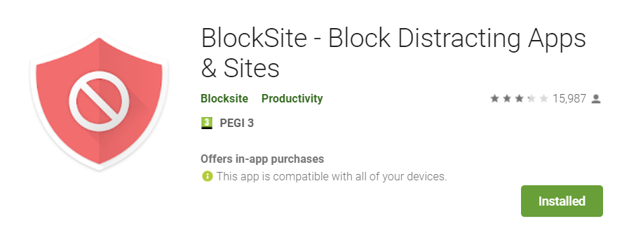 bloquer sites smartphone android
