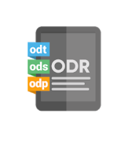 logotyp ODT-fil Android