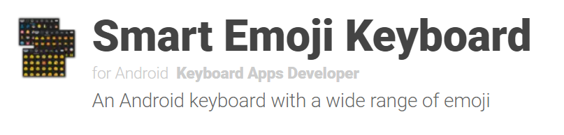 application emojis smartphone android