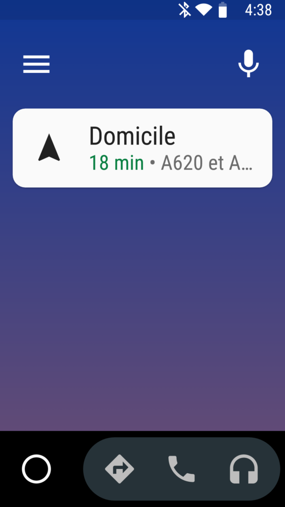 android auto sur ancienne version d'Android