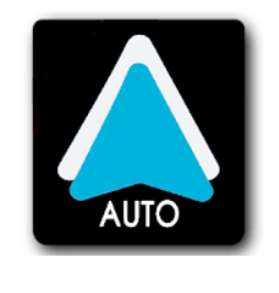 logo android auto sur smartphone