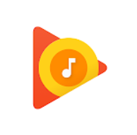 logo google play musique android auto