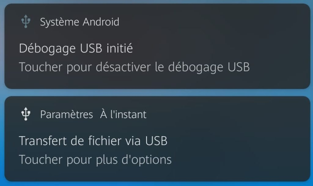 USB debugging enabled to access the phone and restart it without power button