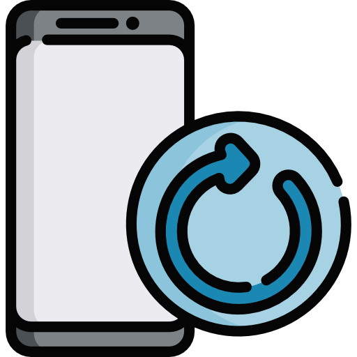 forced restart logo on android