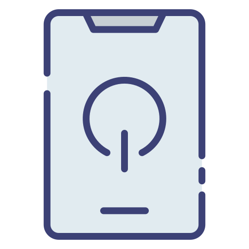logo power bouton android